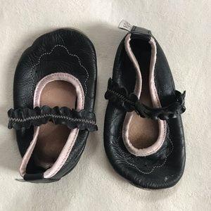 Bobux leather soft sole Mary Janes